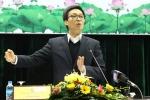 Phó Thủ tướng Vũ Đức Đam: 'Bóng đá Việt Nam chưa đẹp đâu!'