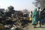 Máy bay thả nhầm bom, hơn 100 người chết
