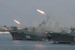 Rộ tin chiến hạm Nga tập trận bắn đạn thật ngoài khơi Syria