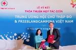 Hội Chữ Thập Đỏ Việt Nam và FrieslandCampina Việt Nam ký kết thỏa thuận hợp tác