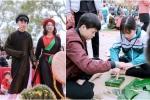 Một ngày trải nghiệm không khí Tết xưa của học sinh Bắc Ninh