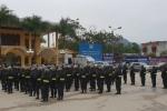 Video: Hàng trăm cảnh sát cơ động và chó nghiệp vụ có mặt tại ga Đồng Đăng
