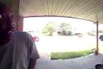 Rắn núp sau cánh cửa, cắn trúng mắt người đàn ông tới thăm nhà
