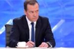 Ông Medvedev: Đảng Nước Nga Thống nhất ủng hộ ông Putin tranh cử tổng thống