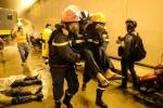 Diễn tập cứu hơn 30 nạn nhân mắc kẹt trong hầm Sài Gòn