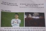 Khoảnh khắc ăn mừng của Văn Thanh vào đề thi học sinh giỏi Thái Nguyên
