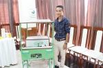 Thầy giáo trẻ chế tạo xe năng lượng phục vụ nông nghiệp