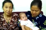 Bé gái gần 6 tháng tuổi bị bỏ rơi trước cửa căn hộ chung cư ở Hà Nội