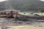 Sạt lở bãi thải xỉ than, nam công nhân tử nạn sau 5 ngày mới tìm thấy