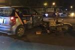 Video: Đâm liên hoàn trên cầu vượt Thái Hà, tài xế taxi nhảy cầu tự tử