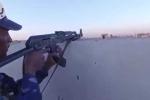 Lính Iraq quay clip 'hóa đá' nơi tiền tuyến đối đầu IS