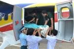 Điều máy bay cấp cứu bệnh nhân nhồi máu cơ tim ở Trường Sa