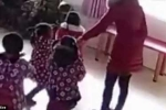 Cô giáo đánh học sinh mầm non thậm tệ vì không thuộc bài múa