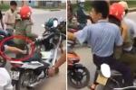 Nghi bắt cóc học sinh, người phụ nữ bị dân vây đánh