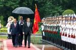 Hình ảnh: Lễ đón tiếp Thủ tướng Nga Dmitry Medvedev tại Hà Nội