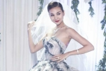 Thanh Hằng khoe vẻ xinh đẹp trong váy cưới tiền tỷ