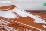 Vì sao tuyết rơi dày tới 40 cm ở sa mạc Sahara?