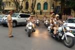 Công an TP Hà Nội sáp nhập 2 phòng CSGT