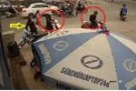 Clip: Băng trộm đi SH và Lead dàn trận 'khoắng' xe Wave trên phố Hà Nội