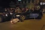 Nữ tài xế BMW 'nhấn nhầm ga', cán gẫy chân một người đàn ông