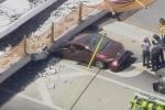 Clip: Cận cảnh sập cầu nặng gần 1.000 tấn ở Mỹ, hàng loạt ô tô bị đè bẹp