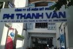 Kem và sữa tắm trắng da của công ty Phi Thanh Vân bị đình chỉ lưu hành