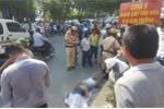 Chạy qua đường, nam thanh niên bị tàu tông chết ở Hà Nội