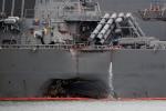 Đã tìm thấy thi thể 10 thủy thủ vụ chiến hạm Mỹ đâm tàu chở dầu