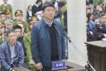 Những hình ảnh đầu tiên từ phiên xử ông Đinh La Thăng