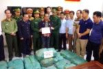 Bắt nghi phạm người Lào vận chuyển gần 3 tạ ma túy đá