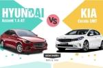 499 triệu nên mua Hyundai Accent 1.4 AT hay Kia Cerato SMT?