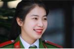 Nữ sinh cảnh sát 'bay người' kẹp cổ 3 nam thanh niên được thăng hàm vượt cấp
