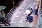 Clip: Trộm cắt khóa chữ U định 'nhảy' xe điện và cái kết bất ngờ