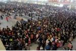 Hàng tỷ người Trung Quốc bắt đầu cuộc 'xuân vận' về quê ăn Tết