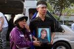 Cháy chung cư Carina: Đưa linh cữu 3 nạn nhân về thăm nhà lần cuối