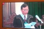 Video: Tuyên án Đinh La Thăng 13 năm tù, Trịnh Xuân Thanh tù chung thân