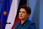Ôtô đâm cây, thủ tướng Ba Lan nhập viện