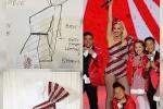 Ca sĩ Gwen Stefani diện trang phục của nhà thiết kế Công Trí