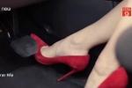 Không phải giày cao gót, đây mới là loại dép gây nguy hiểm nhất khi lái ô tô