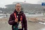 Clip: Tuyết đang rơi dày đặc tại nơi diễn ra chung kết U23 châu Á