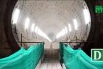 Video: Cận cảnh bên trong đường hầm tuyến metro đầu tiên của TP.HCM