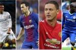 Top 10 tiền vệ phòng ngự hay nhất thế giới 2017