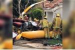 Mỹ: Trực thăng rơi vào nhà dân, 3 người chết