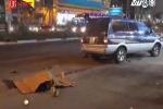 Gây tai nạn chết người rồi bỏ chạy, ôtô bị dân truy đuổi 3km