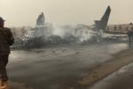 Máy bay rơi, vỡ đôi ở Nam Sudan: Tất cả hành khách sống sót kỳ diệu