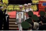 Video: Lễ di quan đưa tiễn Chủ tịch nước Trần Đại Quang về nơi an nghỉ cuối cùng