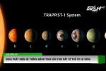 Video chấn động: NASA phát hiện 7 hành tinh to bằng Trái đất, có thể có sự sống