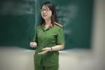 Chân dung nữ giảng viên cảnh sát đam mê nghiên cứu khoa học