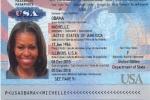 Hộ chiếu nghi của Đệ nhất phu nhân Mỹ bị rò rỉ