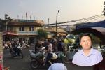Clip: Tạm đình chỉ 1 phó ban quản lý, tạm dừng hoạt động 2 tổ bốc xếp chợ Long Biên